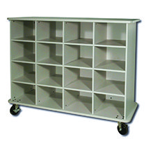 CFCeducational Mobile Cubby Unit
