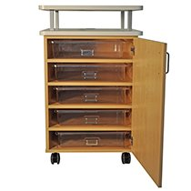 CFC Educational Teacher Storage Cart 740-1034
