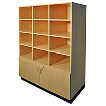 Corilam Cubby Wall Unit