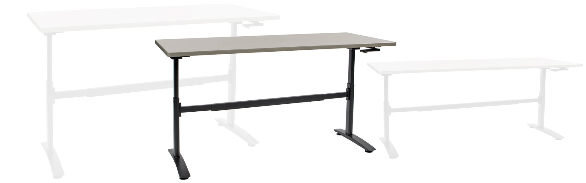 Corilam 640 Adjustable Height Desk