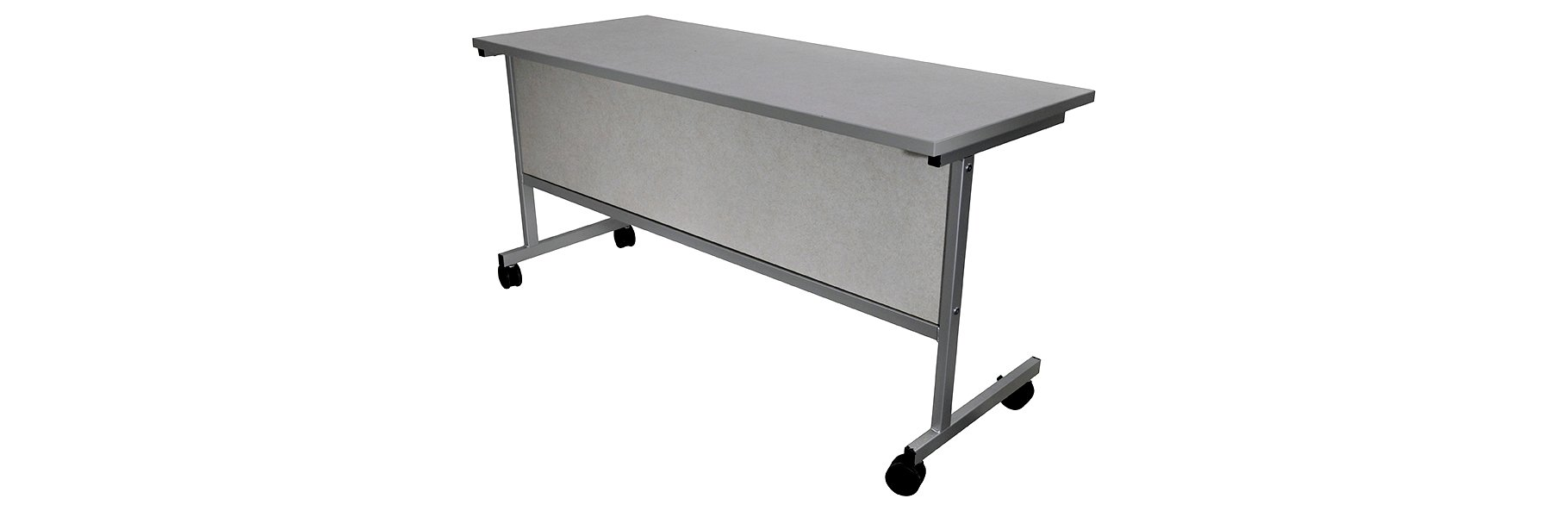 Corilam 613 Mobile Steel Base Desk Front.jpg